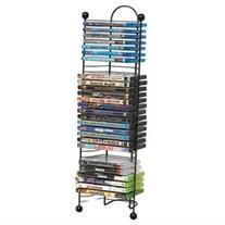 Atlantic Nestable 63712046 Media Storage Rack - 32 x DVD, 32