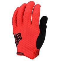Fox Men's Attack Gloves, Red, Small