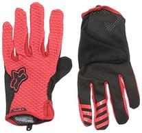 Fox Men's Attack Gloves, Red, 2X
