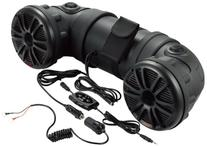 BOSS AUDIO ATV25B Powersports Plug and Play Audio System with Weather Proof 6.5 Inch Component Speakers ,Bluetooth Audio Streaming, Built in 450 Watt