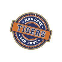 Auburn Tigers Official NCAA Fan Zone Wood Sign by SJT