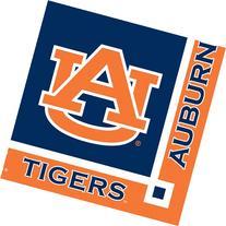 Auburn Tigers Beverage Napkins