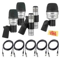 CAD Audio Mix Down DRUM 5 Microphone Set for Drums with 2