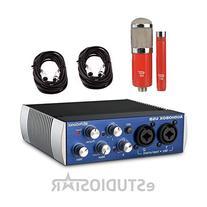 Presonus Audiobox USB with MXL 550/551 and 2 XLR Cables