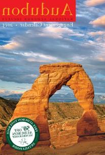 Audubon Engagement Calendar 2015