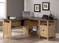 """Sauder 412320 August Hill L-Shaped Desk, L: 59.06"""" x W: 58."""