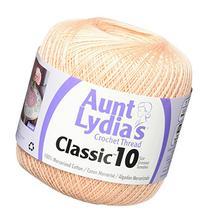 Aunt Lydia's Crochet Cotton-Light Peach