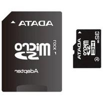 ADATA AUSDH32GCL4-RA1 microSDHC Flash Card - 32GB, Class 4,