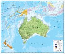 Maps International Australasia Wall Map