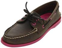 Sperry Top-Sider Women's A/O 2 Eye Boat Shoe, Blue Milly/