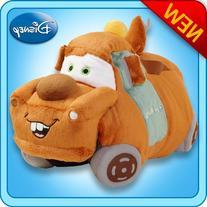 "Pillow Pets Authentic Disney Cars 18"" Tow Mater, Folding"