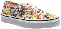 Vans Kids Authentic Disney Skate Shoes-Multi Princess-2