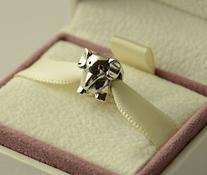 Authentic Pandora My Lucky Elephant Bead Charm Gift Box for