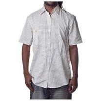 Stussy Men's Authentic Plaid Short Sleeve Button Up Shirt