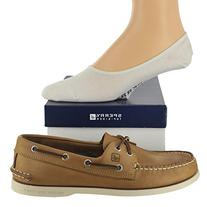 Sperry Men's Authentic Original Shoe with FREE No Show Socks