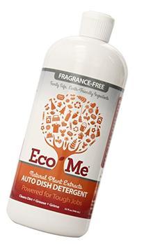 Eco-Me Natural Auto Dish Soap, Fragrance-free, 32 Fluid