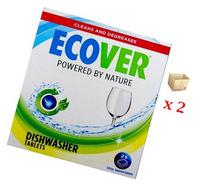 Ecover Natural Plant-based Automatic Dishwasher Tablets,