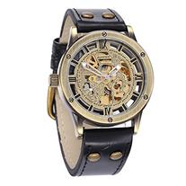 ShoppeWatch Mens Automatic Mechanical Watch Steampunk