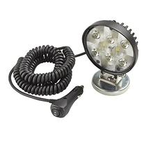 Wesbar  Round Auxiliary LED Work Light with 19' Coiled Cord