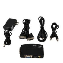 AV S-Video RCA to VGA Video Converter Switch PC TV