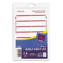 AVE05201 - Avery Print or Write File Folder Labels