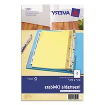 Avery 11102 5 Tab Insertable Dividers