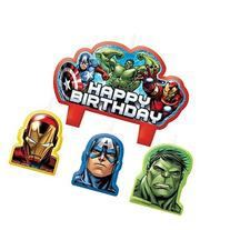 Avengers Assemble Birthday Candle Set by Amscan