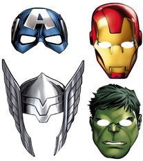 Avengers 'Assemble' Paper Masks