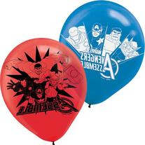 6-Piece Avengers Balloons, Multicolored