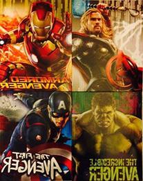 Marvel Avengers IRON MAN, HULK, CAPTAIN AMERICA, & THOR 2