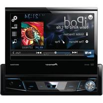 "Pioneer AVH-X6700DVD 7"" Single-DIN DVD Receiver with Flip-"