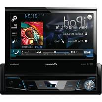 "Pioneer AVH-X7700BT 7"" Single-DIN DVD Receiver with Flip-out"