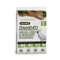 ZuPreem AvianMaintenance Natural Bird Diet for Cockatiels,