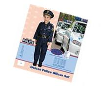Dress Up America Award Winning Deluxe Police DressUp Costume