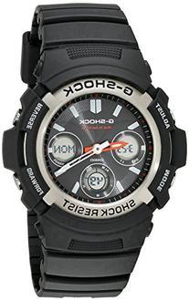 G-Shock AWGM100-1ACR Men's Tough Solar Atomic Black Resin