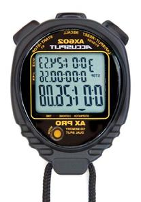 ACCUSPLIT AX602 PRO MEMORY  3 LINE DISPLAY Stopwatch  with