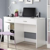 South Shore Axess Collection 47W in. Small Desk - Pure White