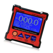 Floureon Axis Level Box Inclinometer Dual Axis Digital Angle