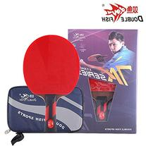 Double Fish Ayous Wood Blade Table Tennis Racket 7 Star 7A-C