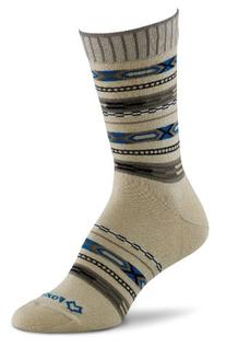 Fox River Women's Aztec Crew Socks, Chino, Medium