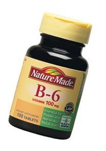 Nature Made B-6 Vitamin 100Mg Tablets 100 CT