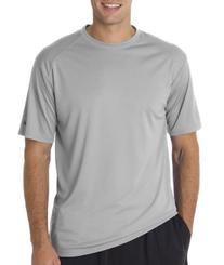 Badger Sportswear Adult B-Core Tee, Silver, XXXXX-Large