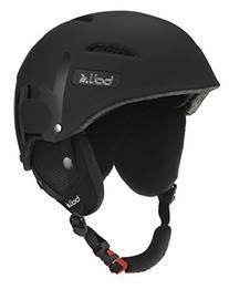 Bolle B-Style Snow Helmets, Soft/Shiny Black, 58-61cm