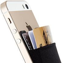Credit Card Wallet, Sinjimoru Stick-On Wallet functioning as