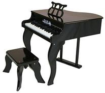 Baby Classic Grand Piano 30 Key - Black