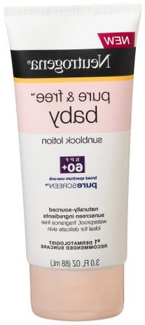 Neutrogena Baby Lotion SPF 60, 3-Ounce Tube