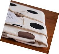 Organic Baby Blanket, Pop Dots Pewter