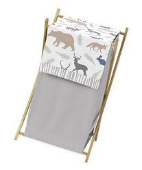 Sweet Jojo Designs Baby Children Kids Clothes Laundry Hamper