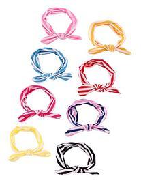 Qandsweet Baby Girl Elastic Hair Hoops Headbands