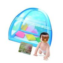 Baby Infant Nursery Bed Crib Canopy Inflatable Mosquito Net